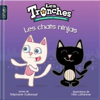 livre chats ninjas